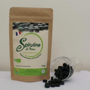 Spiruline bio en comprimés (100g)
